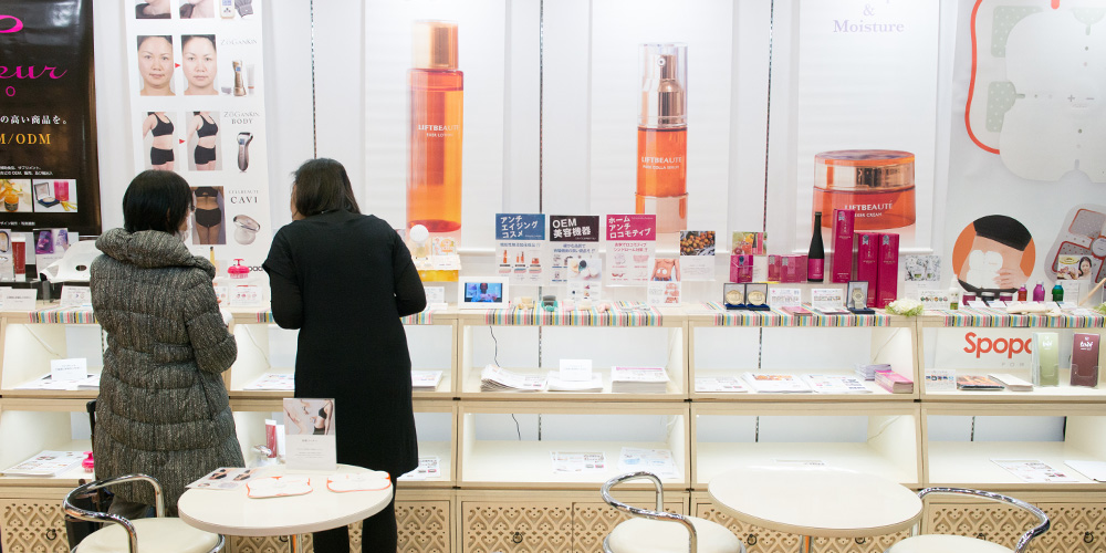 Exhibition scenery in Gift Show Spring 2015